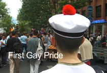 first gay pride
